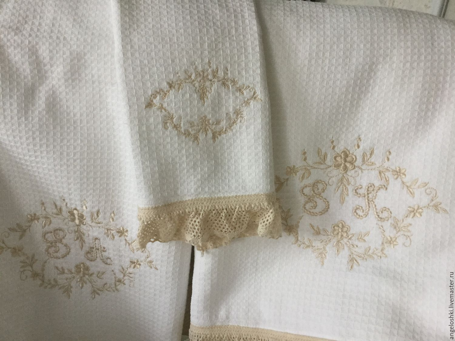 Towels in the style of Provence, Towels, Moscow,  Фото №1
