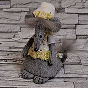 Сувениры и подарки handmade. Livemaster - original item Year Of The Rat 2020: Soft toy Rat Fairy.. Handmade.