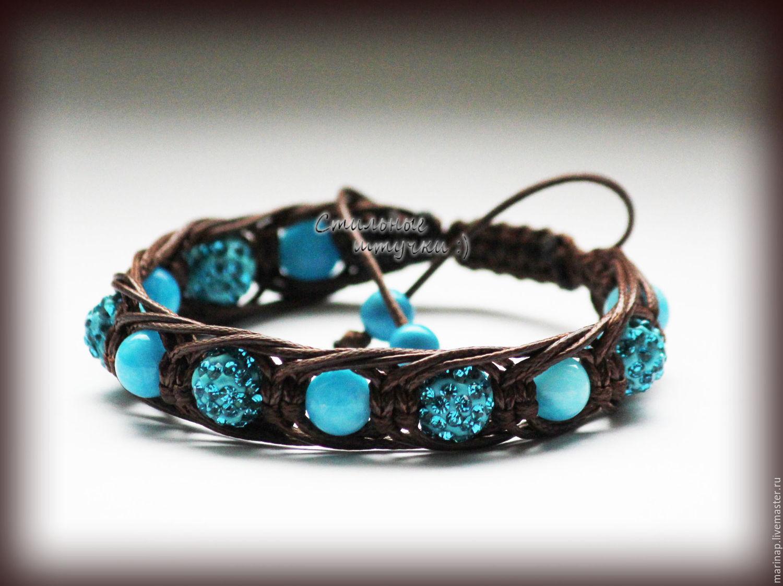 Шамбала красивые браслеты
