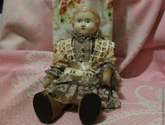 Коллекционные куклы ручной работы. Ярмарка Мастеров - ручная работа. Купить Куколка малышка Тереза. Handmade. Бежевый, куколка, кукла
