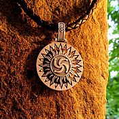 Украшения handmade. Livemaster - original item Talisman/Pendant Rhode - Triglav from silver 925. Handmade.
