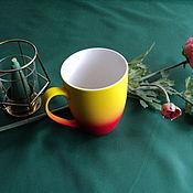 handmade. Livemaster - original item Life-Giving drink mug.. Handmade.
