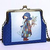 Сумки ручной работы. Ярмарка Мастеров - ручная работа Сумочка для девочки Холли Хобби - сумочка с фермуаром, подарок девочке. Handmade.