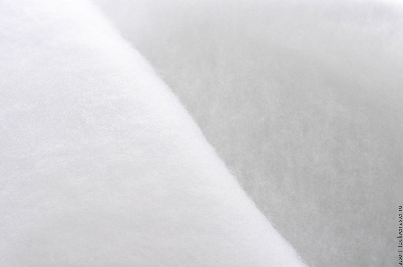 Шитье ручной работы. Ярмарка Мастеров - ручная работа. Купить Синтепон 250г/м ( 20 м. рулон). Handmade. Белый