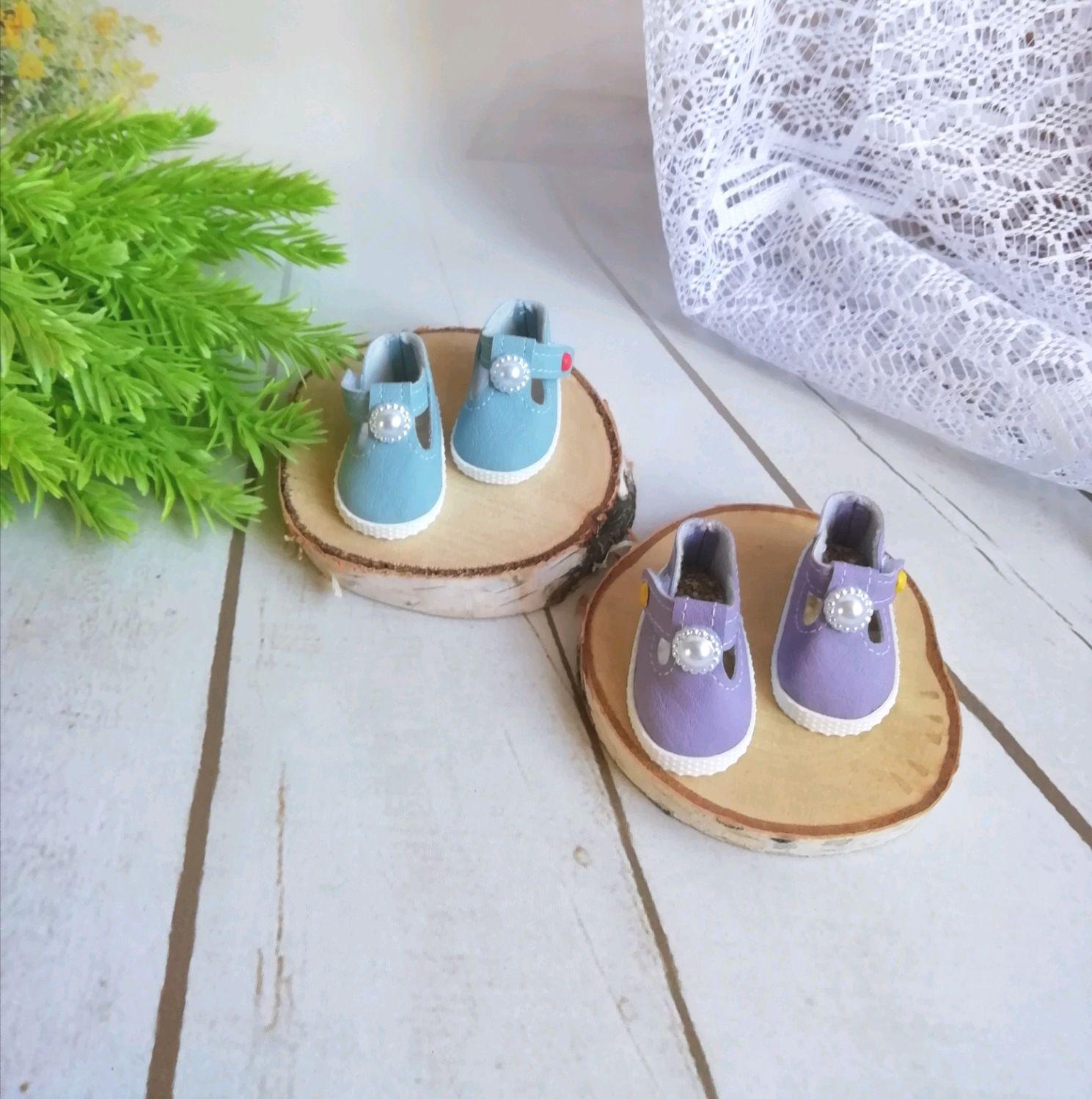 Туфельки для Паолы Рейна из кожзама, Одежда для кукол, Жигулевск,  Фото №1