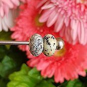 Материалы для творчества handmade. Livemaster - original item Honey dendrite for bracelets Pandora and Trollbeads. Handmade.