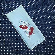 Винтаж handmade. Livemaster - original item BOOKING a Delicate vintage towel. Handmade.
