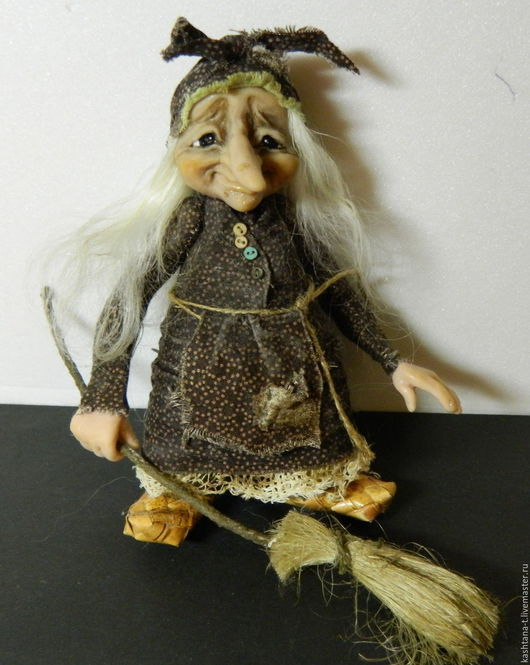 Коллекционные куклы ручной работы. Ярмарка Мастеров - ручная работа. Купить Маленькая Ягулька  из серии (коричнеая). Handmade. Коллекция