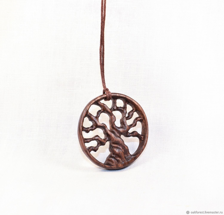 Pendant-amulet made of wood ' Tree of life '(walnut), Pendant, Domodedovo,  Фото №1