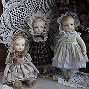 Куклы и игрушки ручной работы. Ярмарка Мастеров - ручная работа Куклы в антикварном стиле. Handmade.