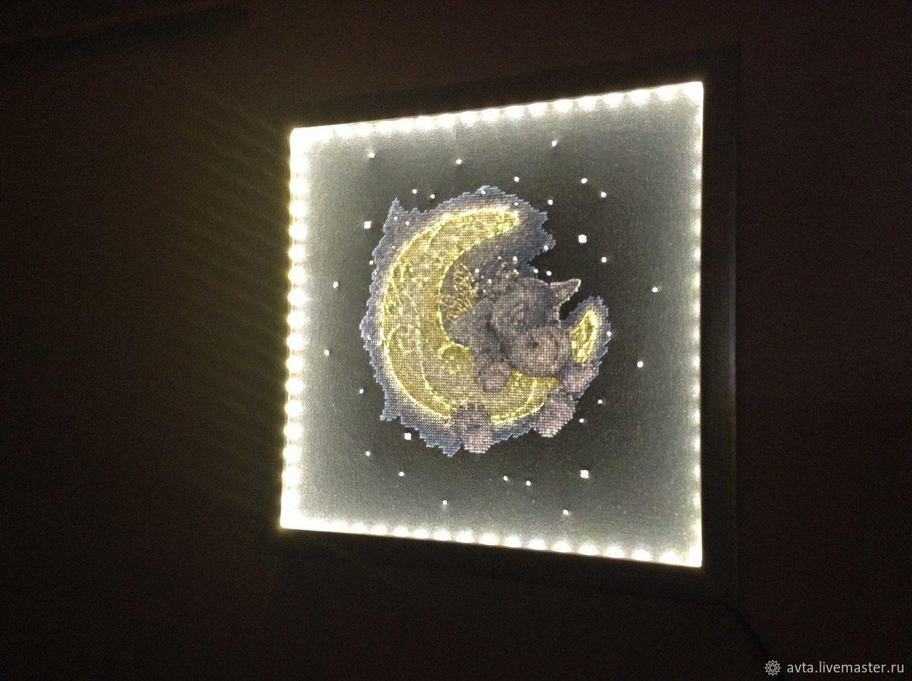 Светильник. Вышивка, Потолочные и подвесные светильники, Киров,  Фото №1