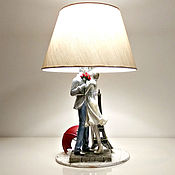 Для дома и интерьера handmade. Livemaster - original item Table lamp / decorative lamp and rain in Paris today. Handmade.
