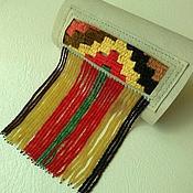 """Украшения ручной работы. Ярмарка Мастеров - ручная работа Кожаный браслет """"Индеец"""". Handmade."""