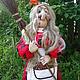 Сказочные персонажи ручной работы. Ярмарка Мастеров - ручная работа. Купить Баба-Яга. Handmade. Кукла из капрона, кукла в подарок