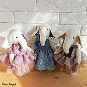 Куклы и игрушки ручной работы. Ярмарка Мастеров - ручная работа Слоники подружки. Handmade.