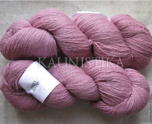 Вязание ручной работы. Ярмарка Мастеров - ручная работа. Купить Pink Pale (Бледно розовый) Кауни 8/2. Handmade.