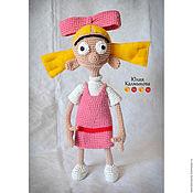 """Куклы и игрушки ручной работы. Ярмарка Мастеров - ручная работа Вязаная кукла """"Хельга Патаки"""". Handmade."""