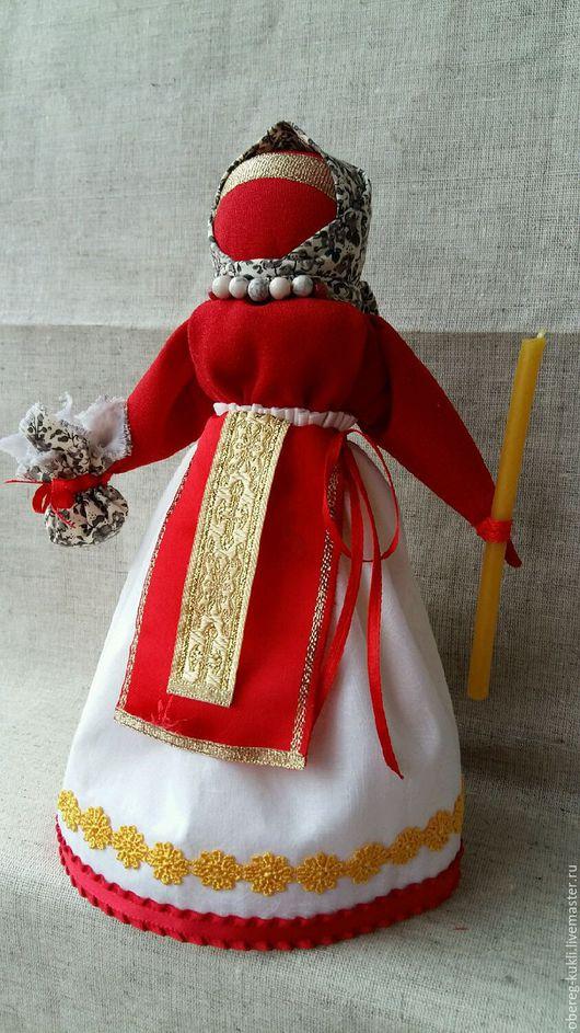 """Народные куклы ручной работы. Ярмарка Мастеров - ручная работа. Купить """"Пасхальная""""по мотивам Народной куклы. Handmade. Обережная кукла"""