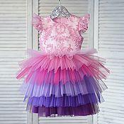 """Платье ручной работы. Ярмарка Мастеров - ручная работа Платье для девочки """"Пони"""". Handmade."""
