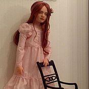 Куклы и игрушки ручной работы. Ярмарка Мастеров - ручная работа Вероника - кукла с которой можно играть. Handmade.