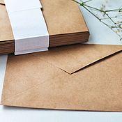 Оформление мероприятий ручной работы. Ярмарка Мастеров - ручная работа Крафт конверт. Handmade.