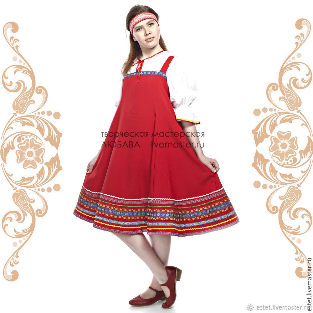 Cарафан Наталья, Народные платья, Королев,  Фото №1