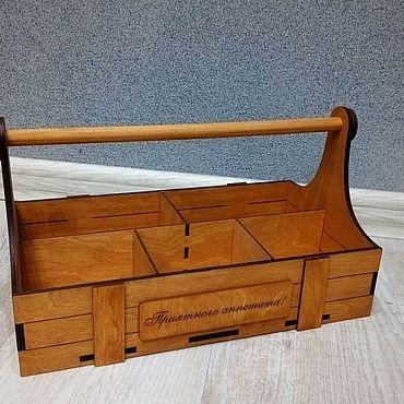 Для дома и интерьера ручной работы. Ярмарка Мастеров - ручная работа Ящик для хранения мелочей. Handmade.