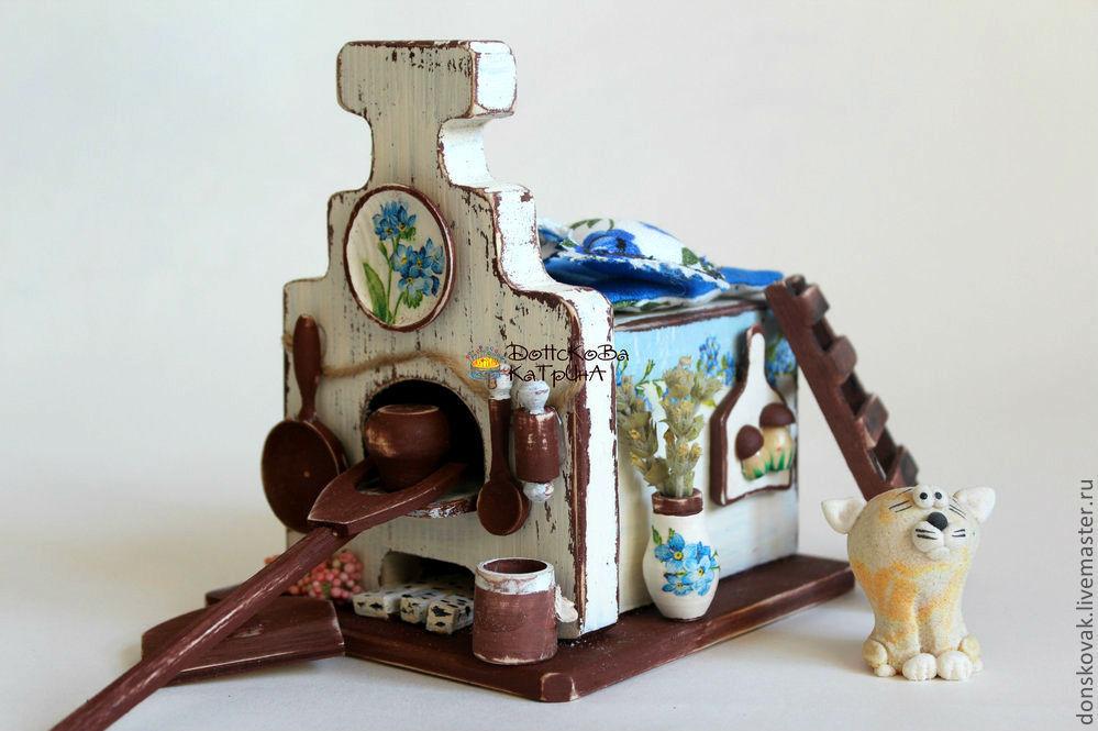 Печка для кукольного домика своими руками 76