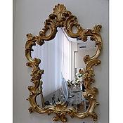 """Для дома и интерьера ручной работы. Ярмарка Мастеров - ручная работа Зеркало """"Gold"""". Handmade."""