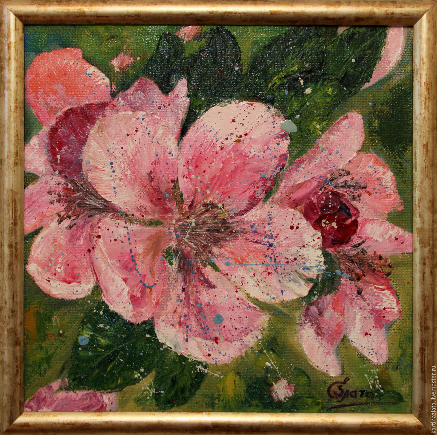Oil painting cherry blossoms Prize collections – shop online on