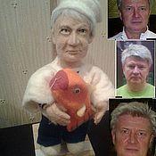 Куклы и игрушки ручной работы. Ярмарка Мастеров - ручная работа Портретная кукла на заказ по фото - Повар, корабельный кок. Handmade.