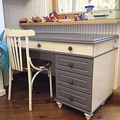 Для дома и интерьера handmade. Livemaster - original item Writing table with Cabinet. Handmade.