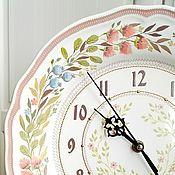 Часы классические ручной работы. Ярмарка Мастеров - ручная работа Часы настенные с ручной росписью. Handmade.