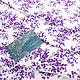 Тонкий трикотаж кулирка фиолетовые веточки. Ткани. БАРХАТ Итальянские ткани (barhat-tkani). Ярмарка Мастеров.  Фото №5