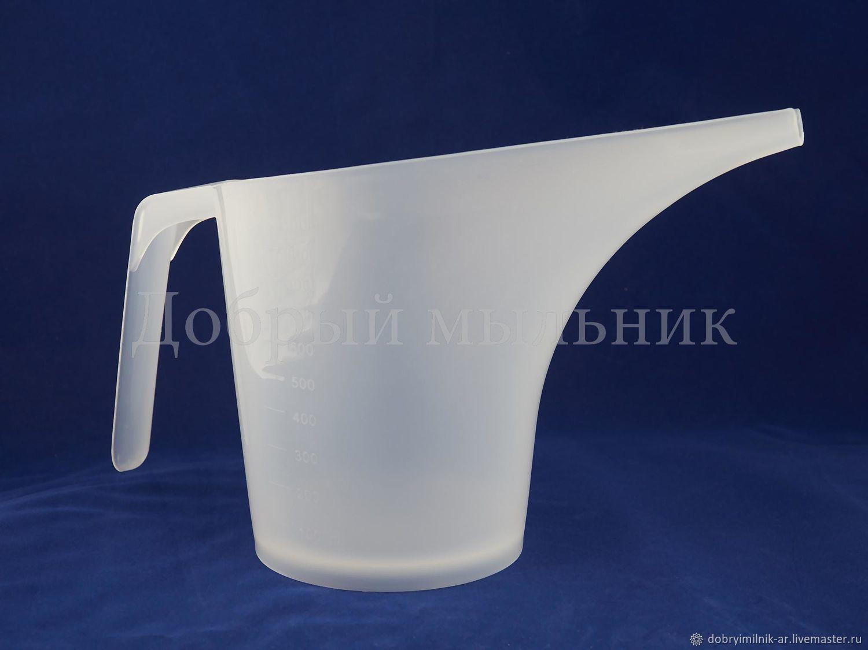 Кувшин для мыла с нуля с длинным носом, Инструменты для косметики, Москва,  Фото №1