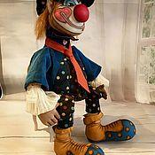Куклы и игрушки ручной работы. Ярмарка Мастеров - ручная работа Клоун Кеша. Handmade.