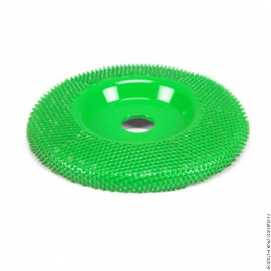 Другие виды рукоделия ручной работы. Ярмарка Мастеров - ручная работа. Купить Обдирочный диск Сабурр  для болгарки плоский среднегрубый. Handmade.
