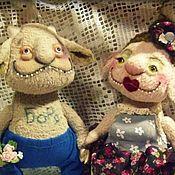 Куклы и игрушки ручной работы. Ярмарка Мастеров - ручная работа Борис и Зинаида. Handmade.
