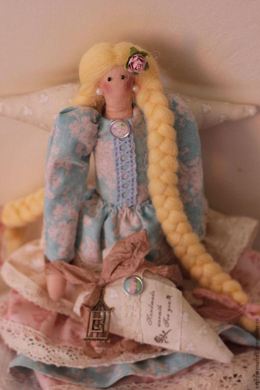 Куклы Тильды ручной работы. Ярмарка Мастеров - ручная работа. Купить кукла тильда Адэль. Handmade. Кукла ручной работы