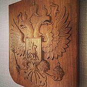 Картины и панно handmade. Livemaster - original item the coat of arms of Russia. Handmade.