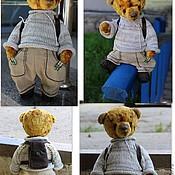 Куклы и игрушки ручной работы. Ярмарка Мастеров - ручная работа Мишка тедди Егорка. Handmade.