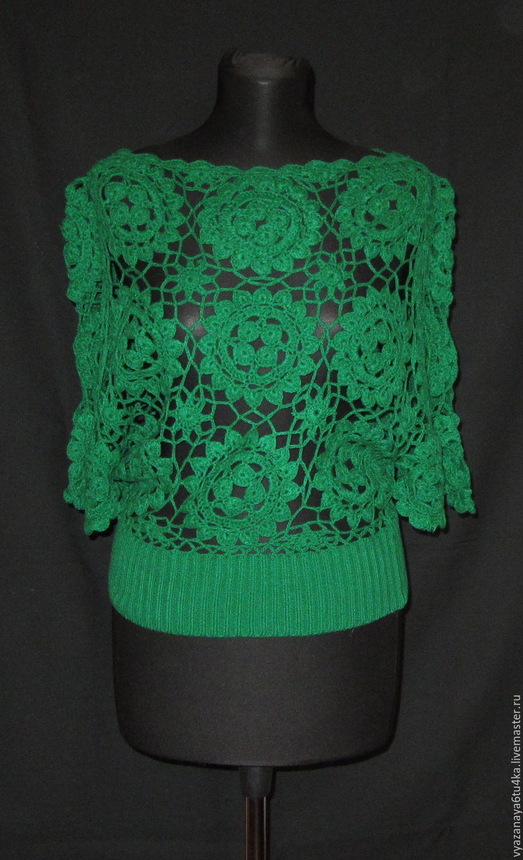 The green jacket ' Izumrudik', Sweater Jackets, Moscow,  Фото №1