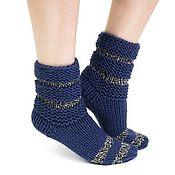 Носки ручной работы. Ярмарка Мастеров - ручная работа Детские вязаные носки ручной работы. Handmade.