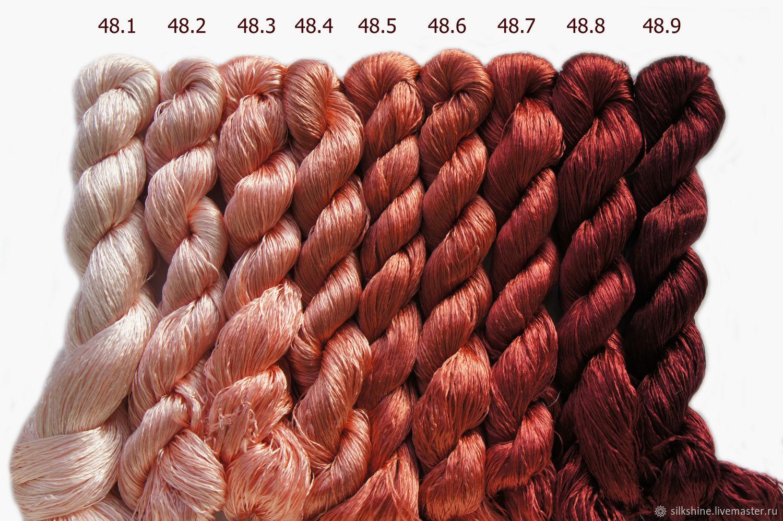 Шелковые нитки для вышивания 30