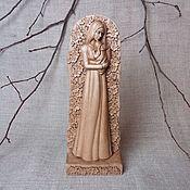 Подарки к праздникам handmade. Livemaster - original item Statuette of a girl with a baby. Handmade.