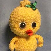 Куклы и игрушки ручной работы. Ярмарка Мастеров - ручная работа Цыпленок Солнышко. Handmade.