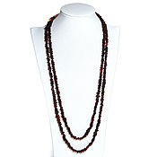 Работы для детей, handmade. Livemaster - original item Long amber beads