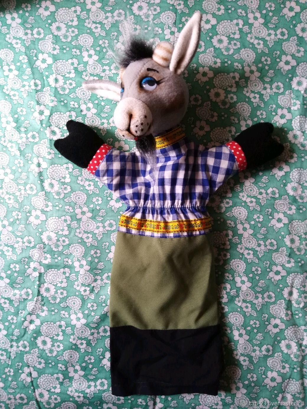 Goat. A glove puppet theatre for the play, Puppet show, Voronezh,  Фото №1