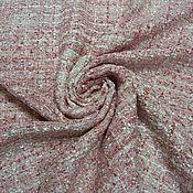 Плательно-костюмная ткань, рогожка (вискоза 80%, п/э 20%) в асс