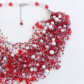 Украшения handmade. Livemaster - original item Necklace: Air
